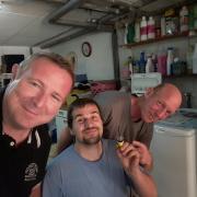 une équipe de fou, nous + notre fournisseur Electro Jaeger