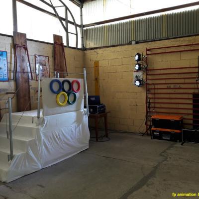 réception médaillé Olympique