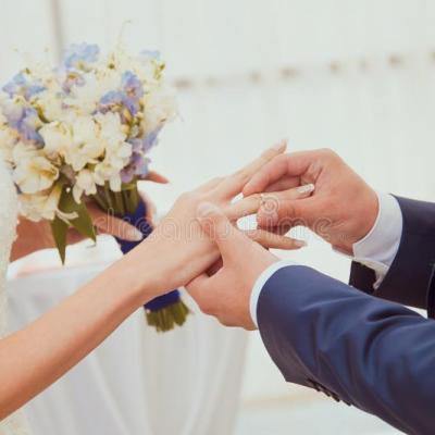 Boucles de mariage 40920002