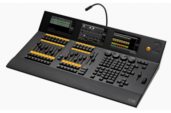 Ma lighting console lumiere dot2 xl faders occasion